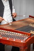 Dulcimer musical instrument Stock Photos