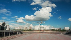 Ak Orda Clouds 4k Stock Footage