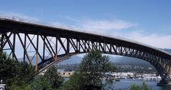 Bridge and Sky Stock Footage