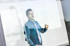Business presentation on corporate meeting Kuvituskuvat
