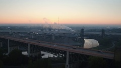 CLEVELAND, INDUSTRIAL VALLEY Arkistovideo