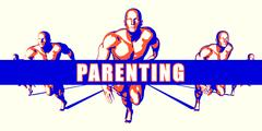 Parenting Stock Illustration