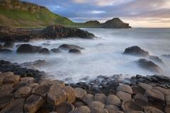 Giants Causeway - County Antrim - Northern Ireland Stock Photos