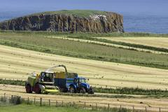 Agriculture - Ballycastle - Northern Ireland Stock Photos