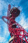 ArcelorMittal Orbit in the Queen Elizabeth Olympic Park, London Stock Photos