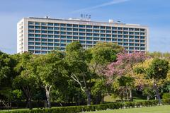 The Four Seasons Hotel Ritz. Stock Photos