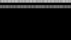 Minimal Techno strobe Stripes Vj Loop Stock Footage