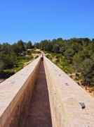 Aqueduct in Tarragona Stock Photos