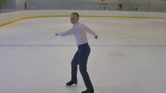 Incendiary The Dance on Ice Stock Footage