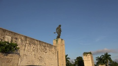 Che Guevara's Monument and Mausoleum in Santa Clara, Cuba. Stock Footage