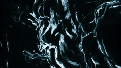 Black Water Animated In Slow Motion - 4 Stock Footage