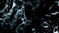 Dark Water In 3D - 21 Stock Footage