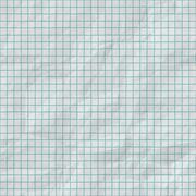 Raster Seamless Grid Lines On Folded Paper Texture Stock Illustration