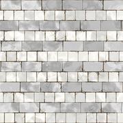 Raster Seamless Grungy Brick Texture Stock Illustration