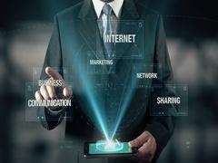 Social Media Network Communication Business Marketing Internet Sharing Arkistovideo