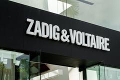 Zadig & Voltare Exterior and Logo Stock Photos