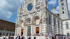 Сathedral Santa Maria Assunta Stock Footage