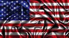 American Flag grunge looking Piirros