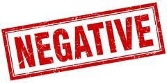 Negative square stamp Stock Illustration