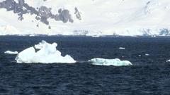 Cruising in Antarctica - Antarctic Peninsula Stock Footage
