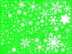 Green Christmas Blast Stock Illustration