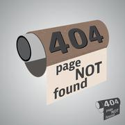 Page not found Stock Illustration