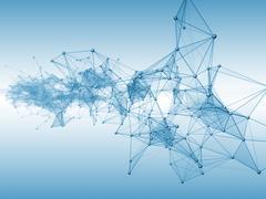 Virtualization of Computing Stock Illustration