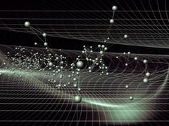 The Virtual World Stream Stock Illustration