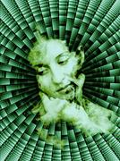 Thinking Woman Stock Illustration