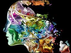 Unfolding of Self Fragmentation Stock Illustration