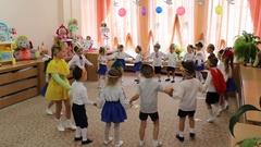 Matinee in kindergarten Stock Footage
