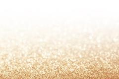 Abstract glitter gold background Stock Photos