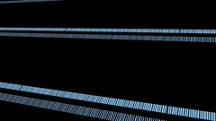 Blue Minimal  Stripes Vj Loop Stock Footage