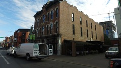 Driving Broadway Nashville Honky Tonks Stock Footage