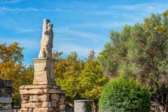 Ancient agora, Athens, Greece. Beautiful landscape photography Stock Photos