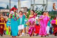Portland Grand Floral Parade 2016 Kuvituskuvat