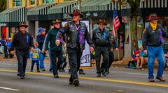 Veterans Day Parade 2016 Kuvituskuvat