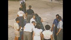 Vintage 16mm film, 1953 Italy, Venice San Giorgo maggiore Stock Footage