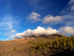 Time lapse video of famous Teide Mountain, Tenerife, Canary Islands. Stock Footage