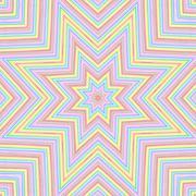 Bright color lines star pattern Stock Illustration