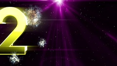 New year 2017 Animaton background 34 Stock Footage