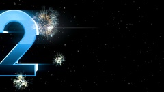 New year 2017 Animaton background 29 Stock Footage