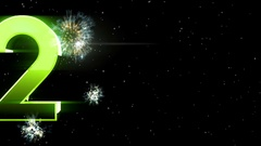 New year 2017 Animaton background 31 Stock Footage