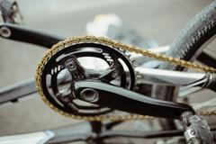 Chain wheel of BMX bike Kuvituskuvat