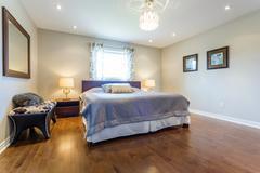 Bedroom Interior design Stock Photos