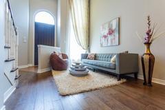 Living room interior design Stock Photos
