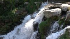 Chittenango Falls Slow Motion Stock Footage