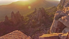 Valley of Desolation Stock Footage