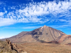 Time lapse video of famous Teide Volcano, Tenerife, Canary Islands. Stock Footage
