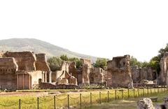 Hadrian villa, adriana is a large roman archaeological complex Stock Photos